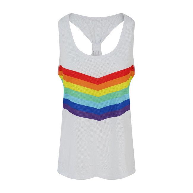 OOSC Rainbow Road Women's Gym Vest
