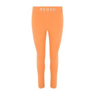 OOSC Pastelkleurige perzikoranje Baselayer-legging voor dames