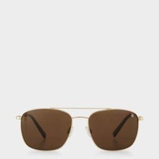 Bogner Sunglasses St. Moritz - Gold / Brown - Men
