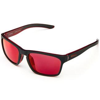 Briko Typhoon Mirror Color HD Sunglasses matt black/red