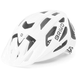 Briko Sismic Bike Helmet White