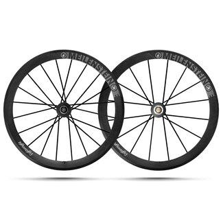 Lightweight Lightweight Meilenstein C24E Rimbrake Wheelset