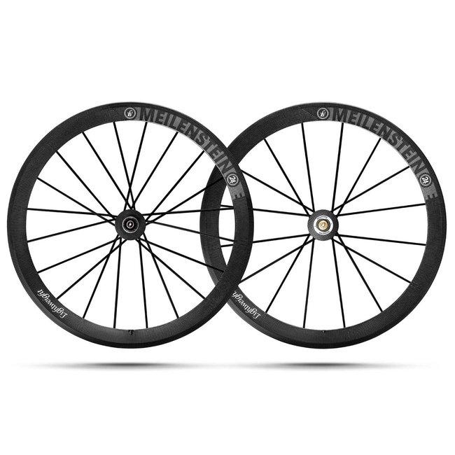 Lightweight Meilenstein C24E Rimbrake Wheelset
