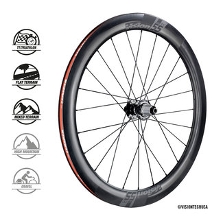 Vision Vision TC55 DB Clincher Tubeless Ready Wheelset