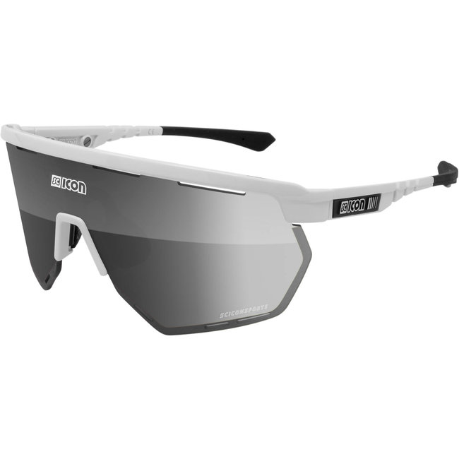 Scicon Aerowing White Gloss Cycling Glasses