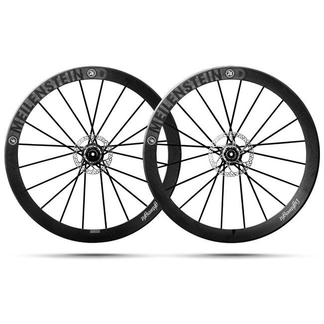 Lightweight Meilenstein T 24D Disc Tubular Wheelset