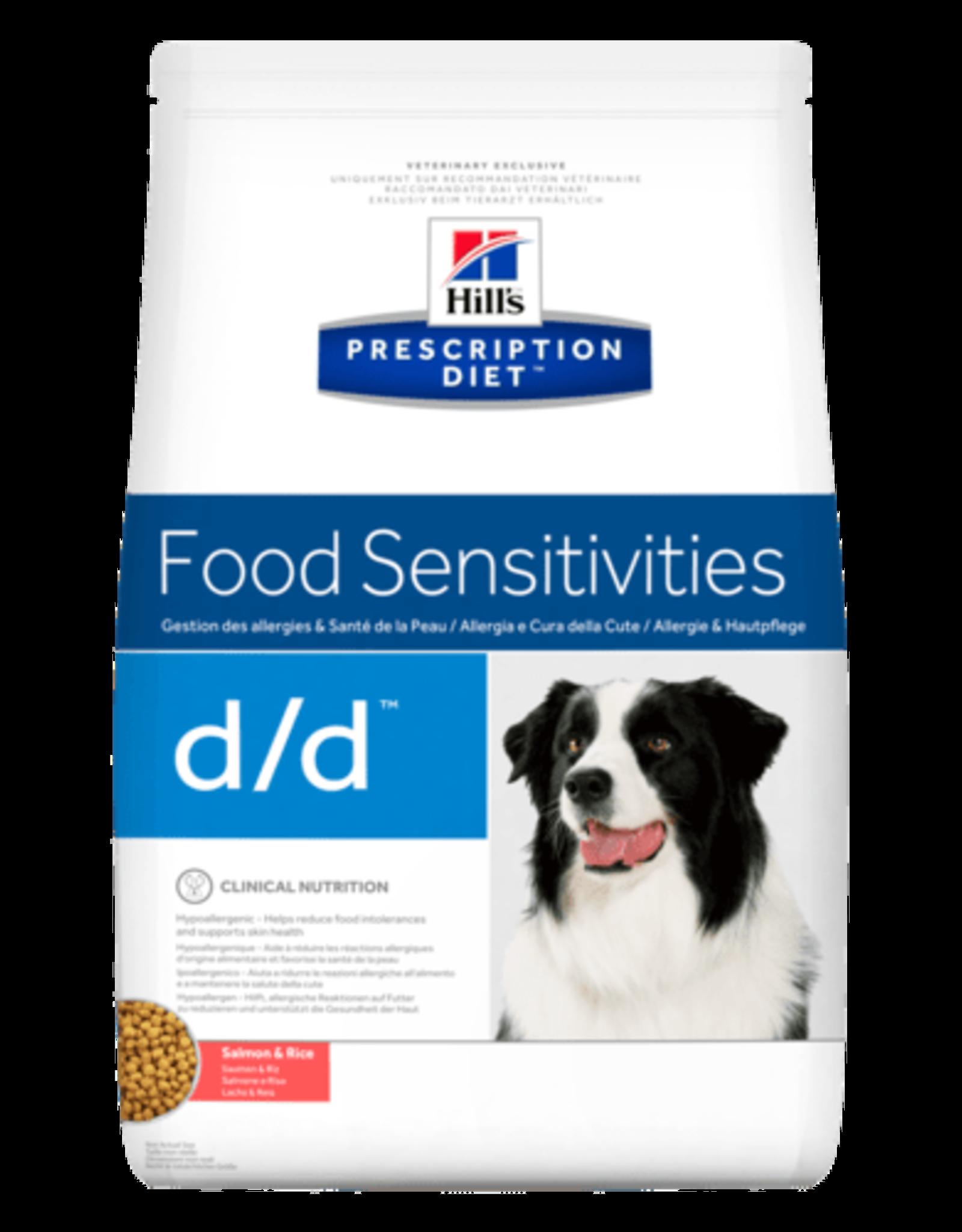 Hill's Hill's Prescription Diet D/d Hond (salmon & Rice) 12kg