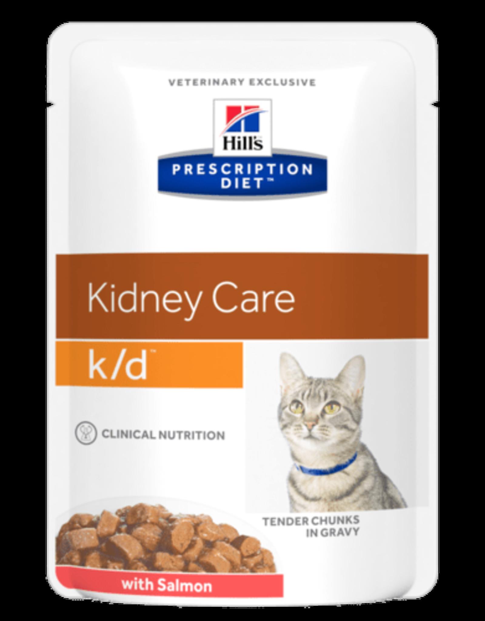 Hill's Hill's Prescription Diet K/d Kat (salmon) 12x85gr