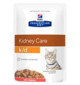 Hill's Hill's  Prescription Diet  K/d  Katze (lachs) 12x85gr
