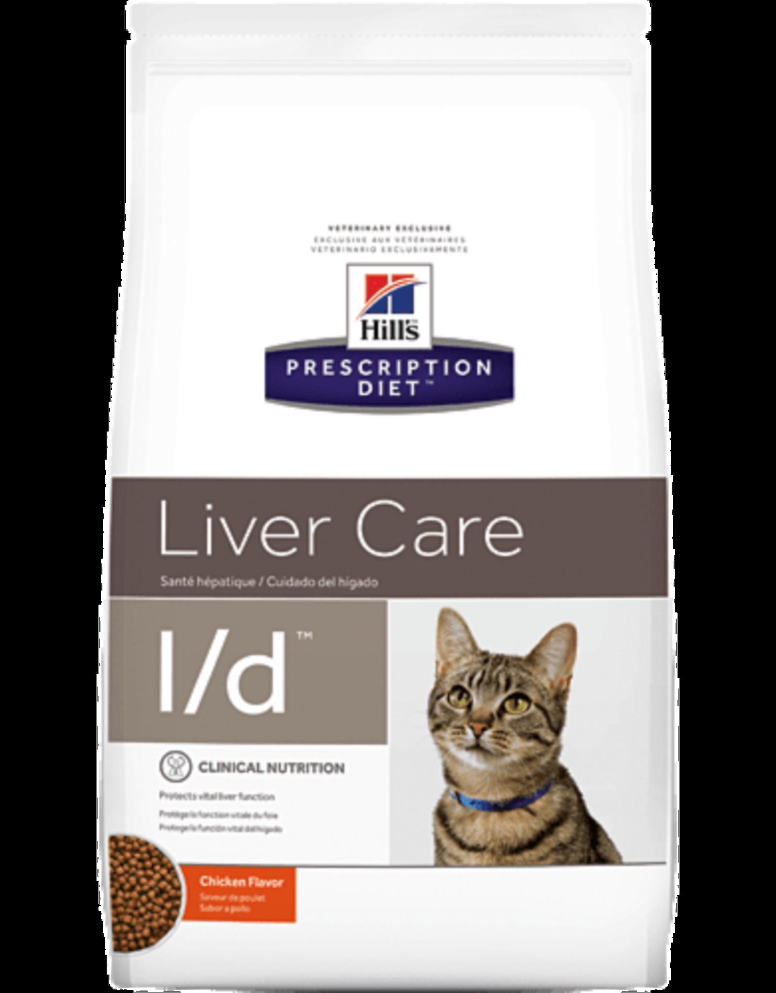 Hill's Hill's Prescription Diet L/d Chat 1,5kg