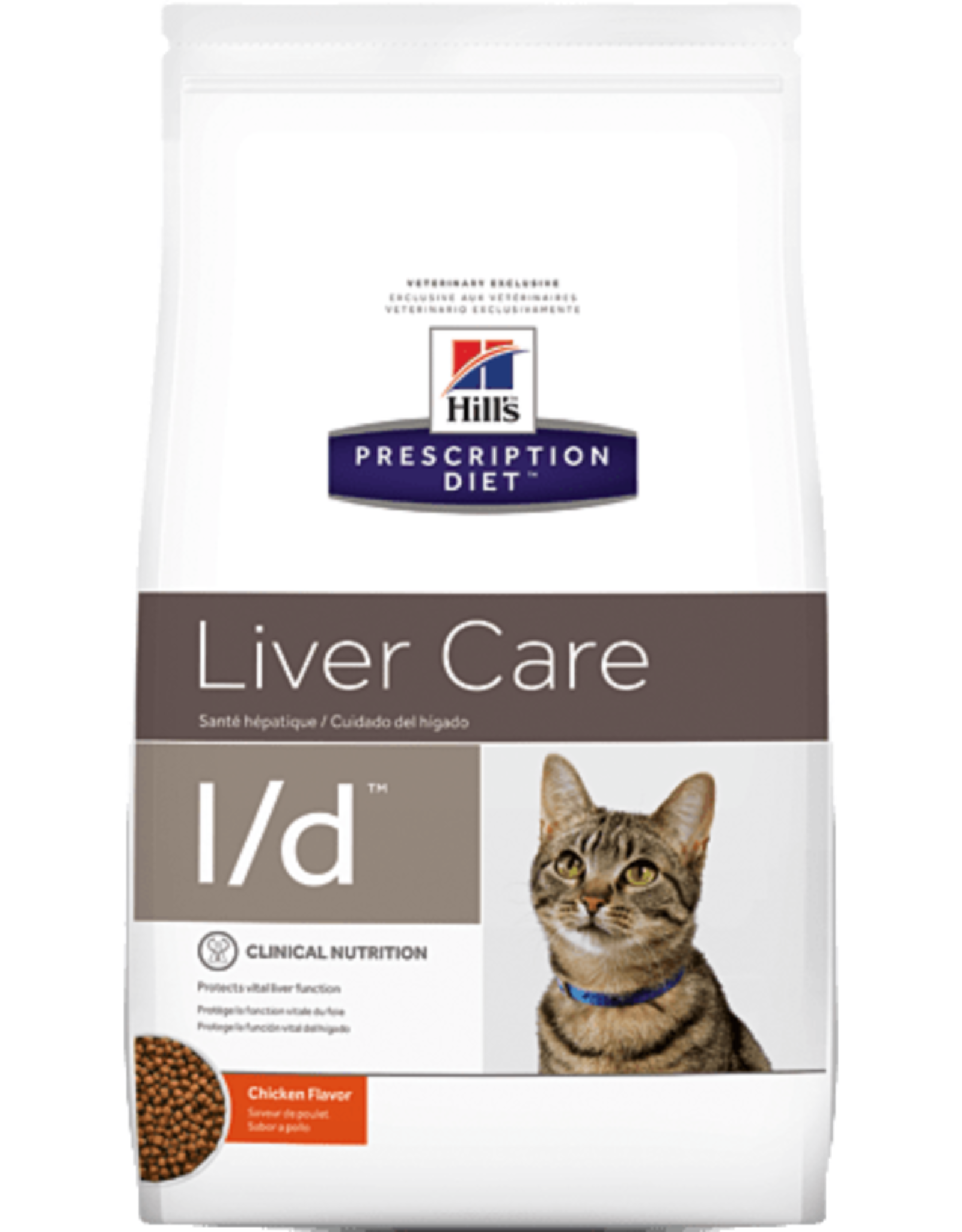 Hill's Hill's Prescription Diet L/d Kat 1,5kg