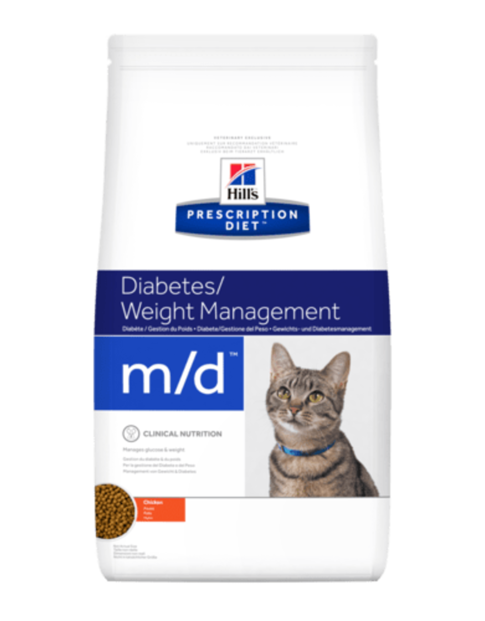 Hill's Hill's  Prescription Diet  M/d  Katze 1,5kg