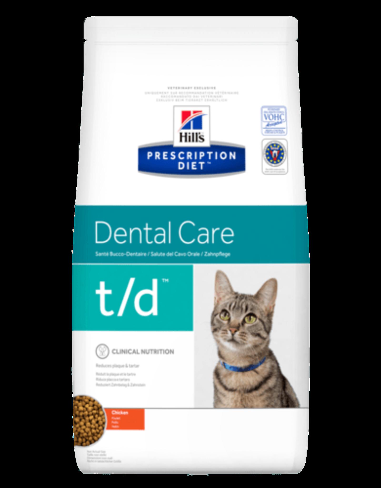 Hill's Hill's Prescription Diet T/d Kat 1,5kg