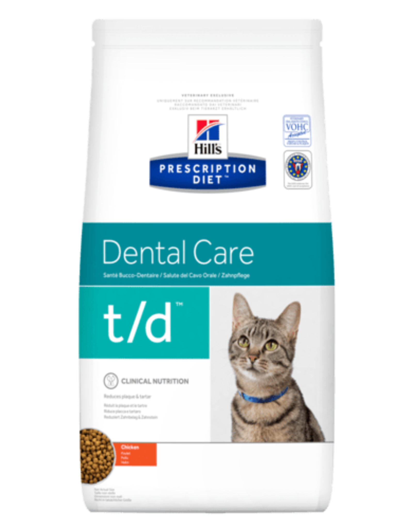 Hill's Hill's Prescription Diet T/d  Katze 1,5kg