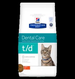Hill's Hill's Prescription Diet T/d Cat 1,5kg