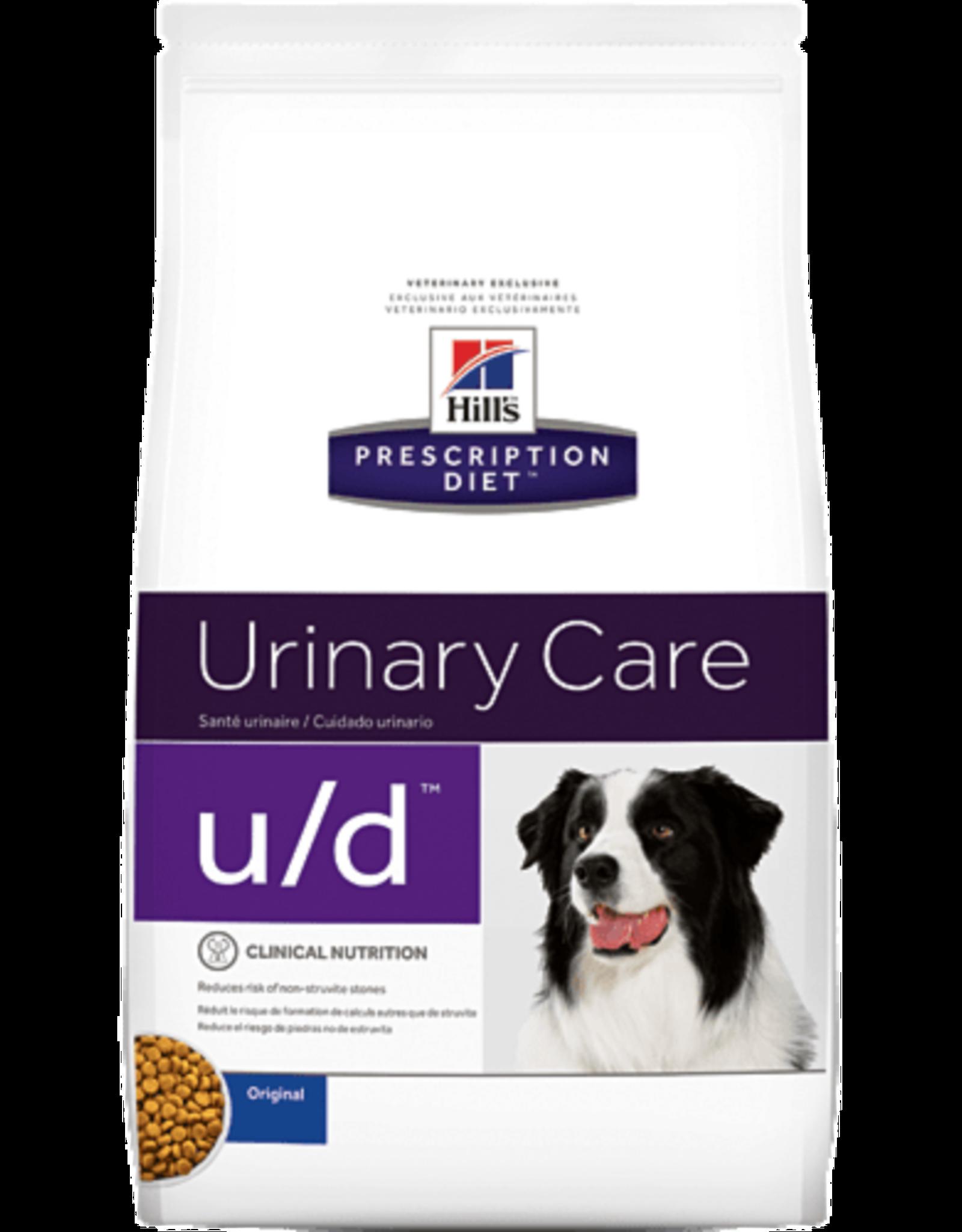 Hill's Hill's Prescription Diet U/d Dog 12kg