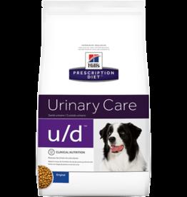 Hill's Hill's Prescription Diet U/d Hond 12kg