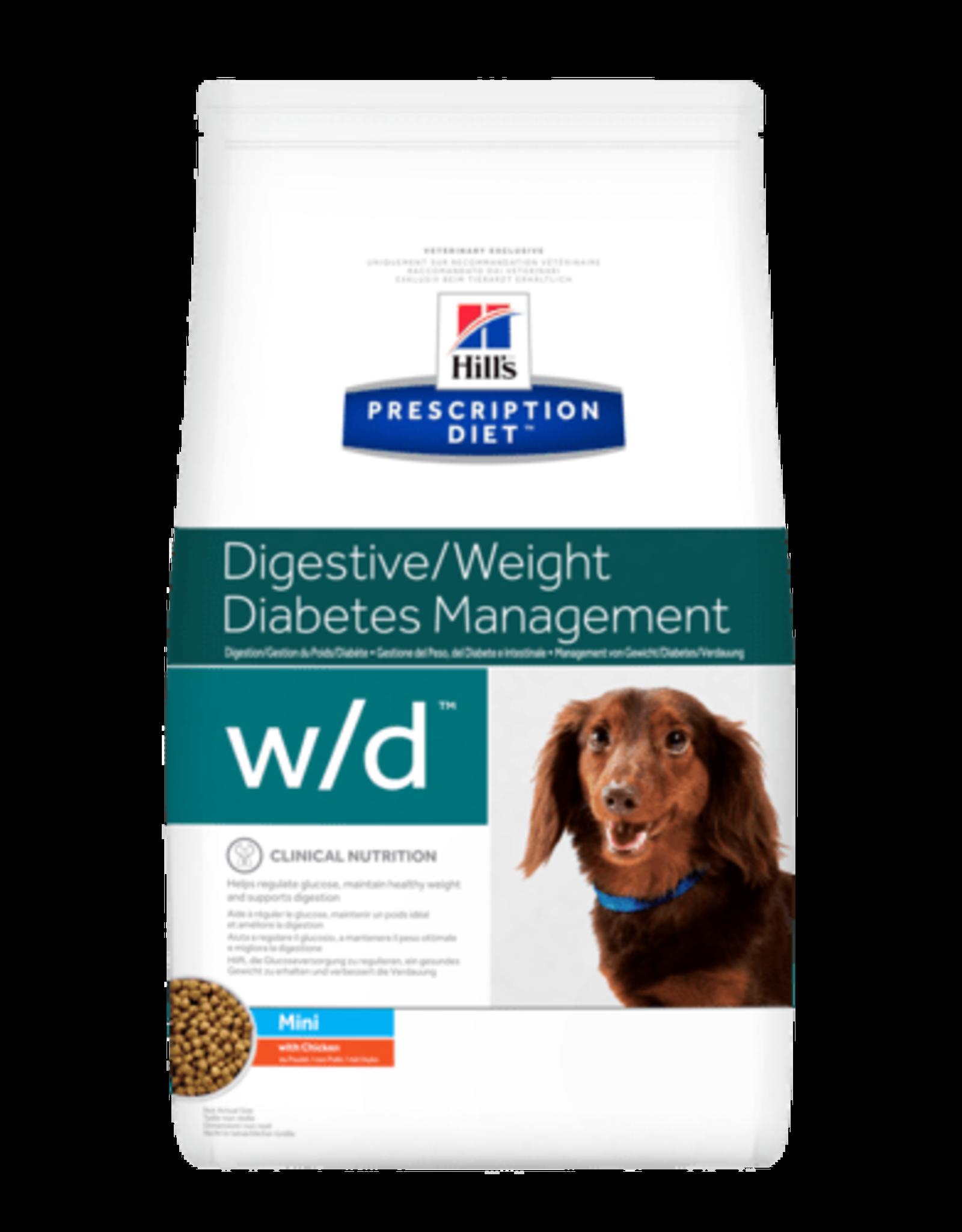 Hill's Hill's Prescription Diet W/d Mini Canine 6kg