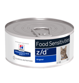 Hill's Hill'sprescription Diet Z/d Ultra Allergen-free Feline 24x156gr
