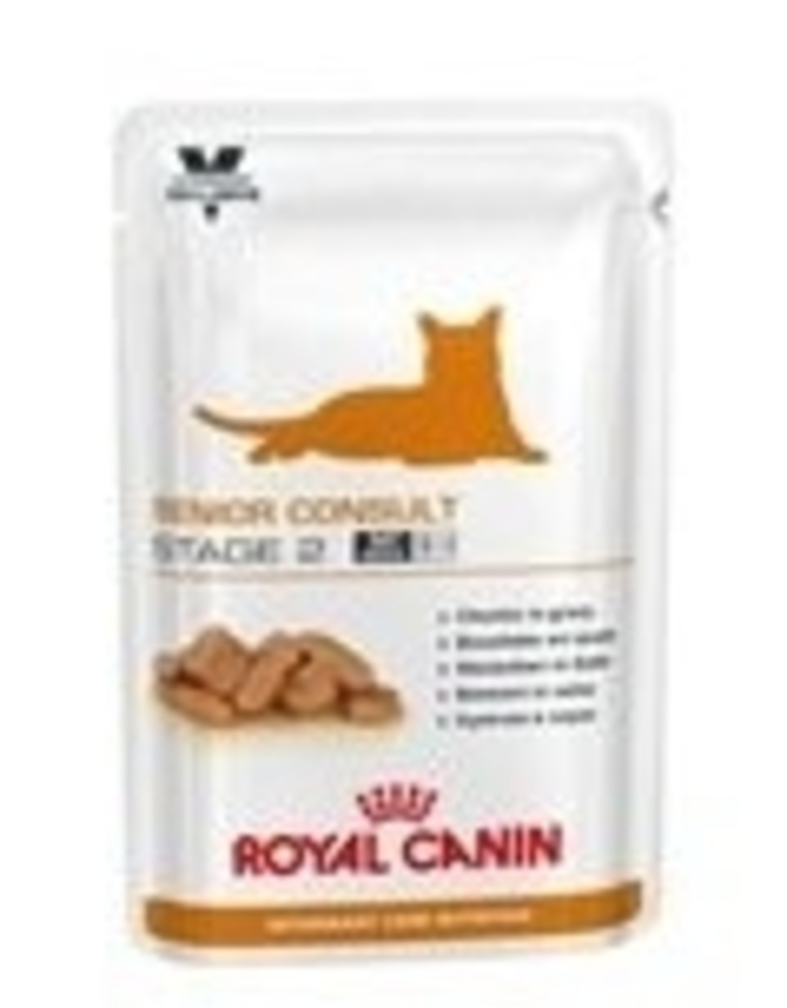 Royal Canin Royal Canin Senior Consult Stage 2 Chat Pch 12x100gr