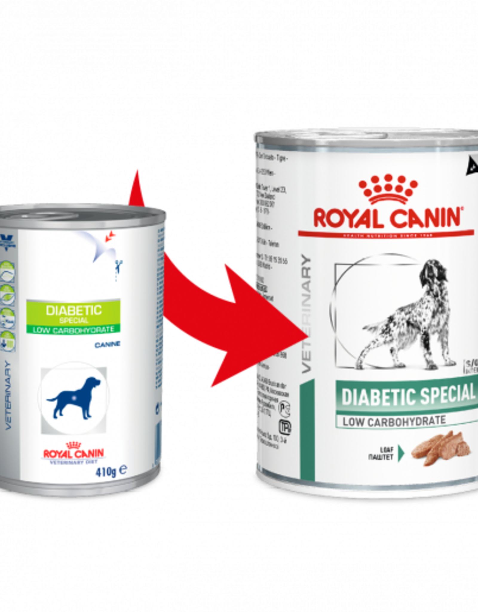 Royal Canin Royal Canin Vdiet Diabetic Low Carb Canine 12x410gr