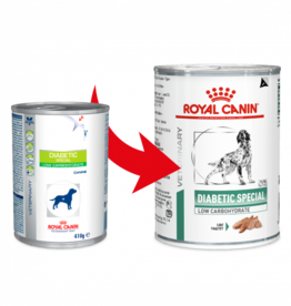 Royal Canin Royal Canin Vdiet Diabetic Low Carb Hond 12x410gr
