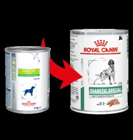 Royal Canin Royal Canin Vdiet Diabetic Low Carb Hund 12x410gr