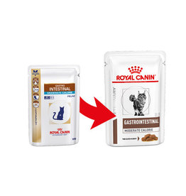 Royal Canin Royal Canin Gastro Intestinal Mod Cal Chat 12x85gr