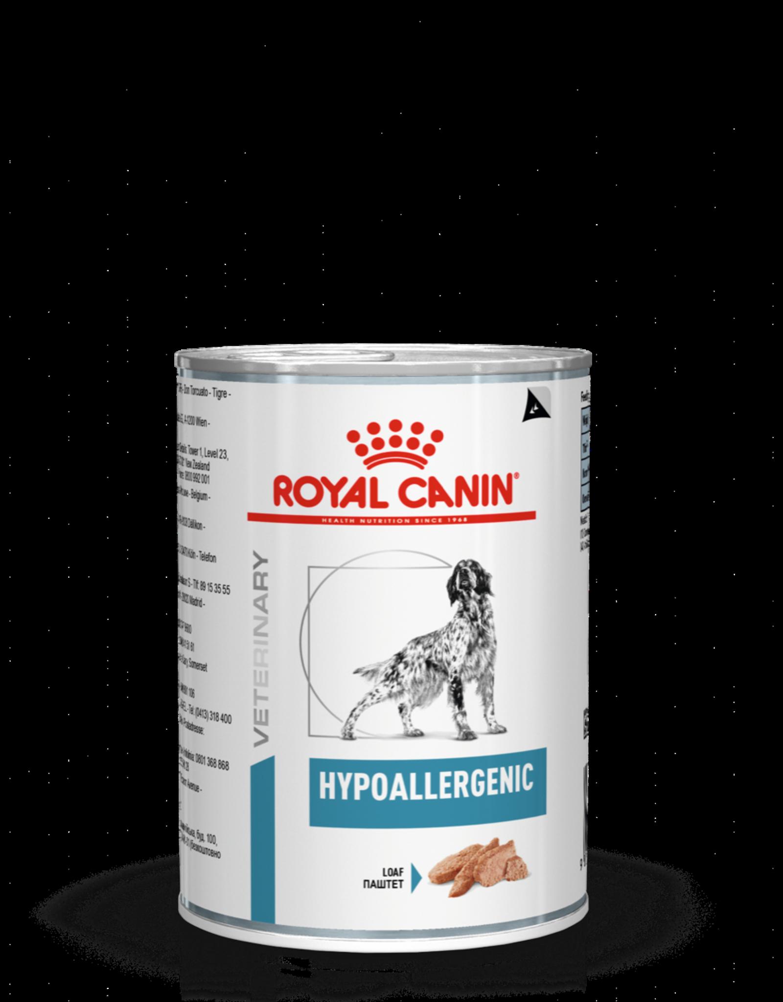 Royal Canin Royal Canin Hypoallergenic Hund 12x400gr