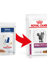 Royal Canin Royal Canin Vdiet Renal Feline Chicken 12x85gr (pouch)
