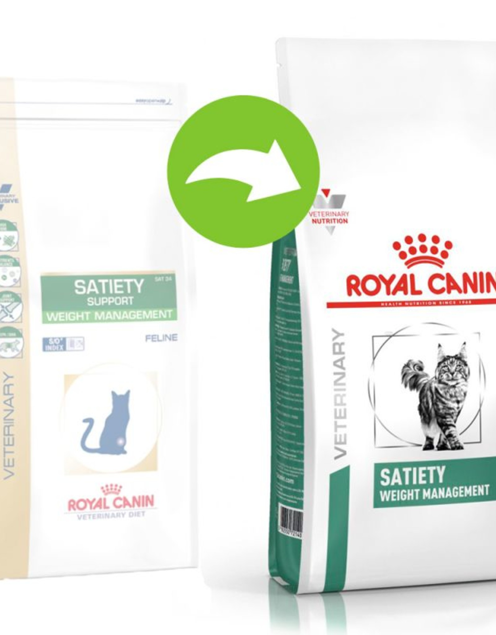 Royal Canin Royal Canin Vdiet Satiety Support Chat 1,5 Kg
