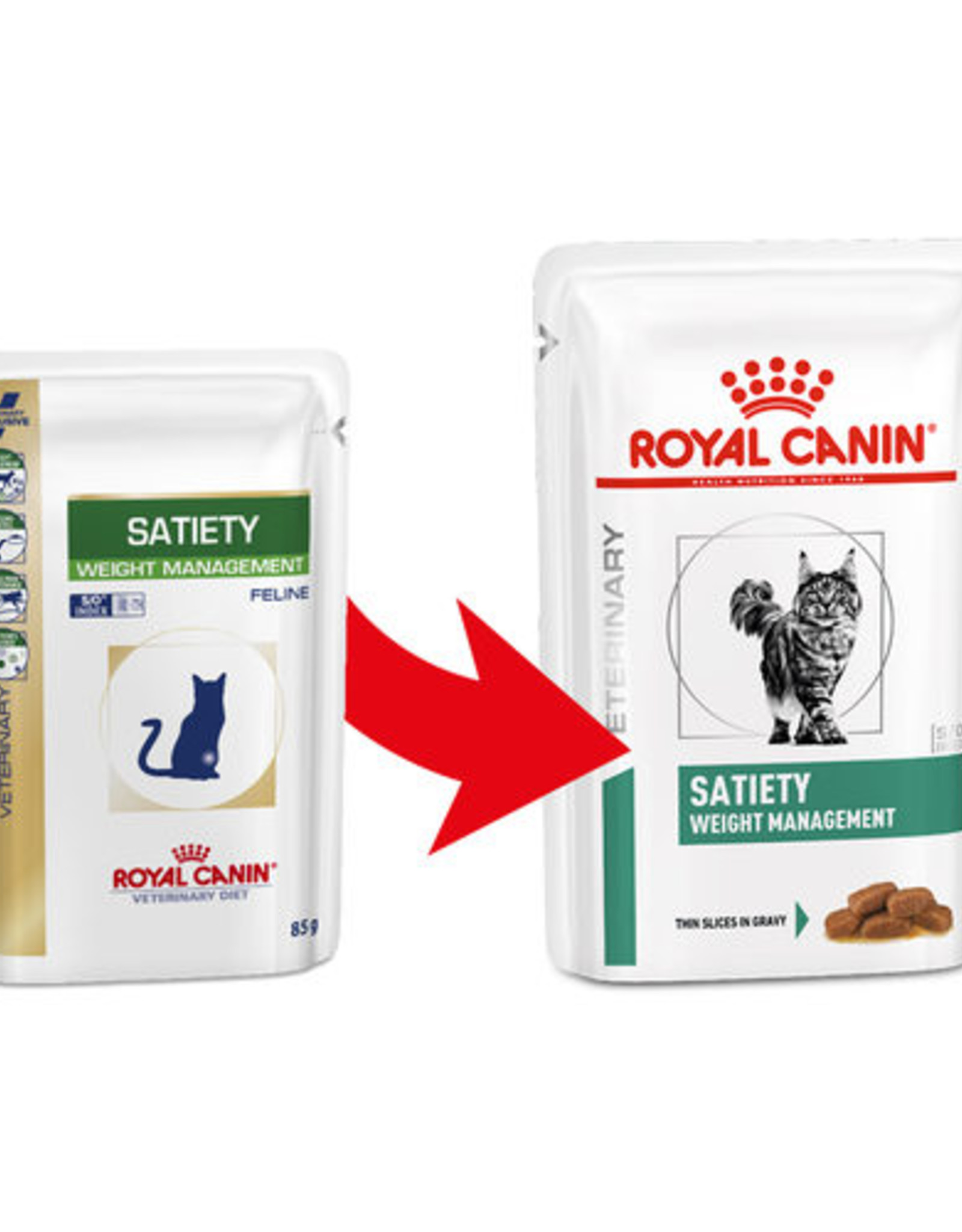 Royal Canin Royal Canin Vdiet Satiety Support Katze 12x85gr
