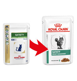Royal Canin Royal Canin Vdiet Satiety Support Cat 12x85gr