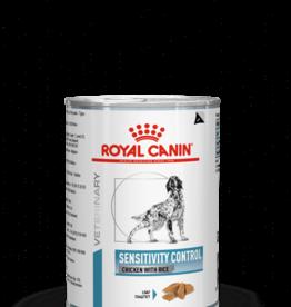 Royal Canin Royal Canin Sensitivity Control Chien Poulet 12x420gr