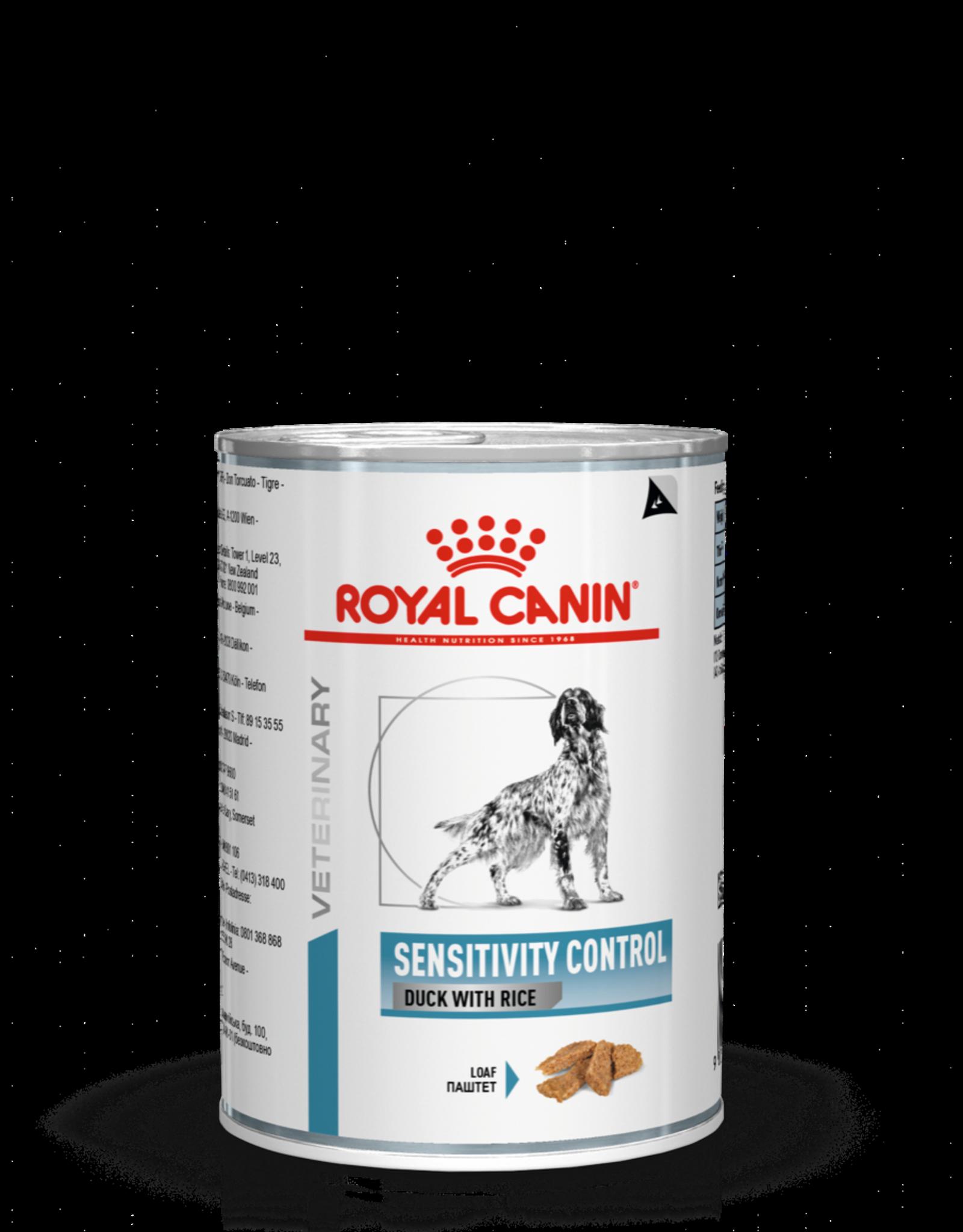 Royal Canin Royal Canin Sensitivity Control Chien Canard 12x420gr