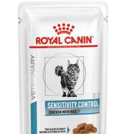 Royal Canin Royal Canin Sensitivity Control Chat Poulet 12x85gr