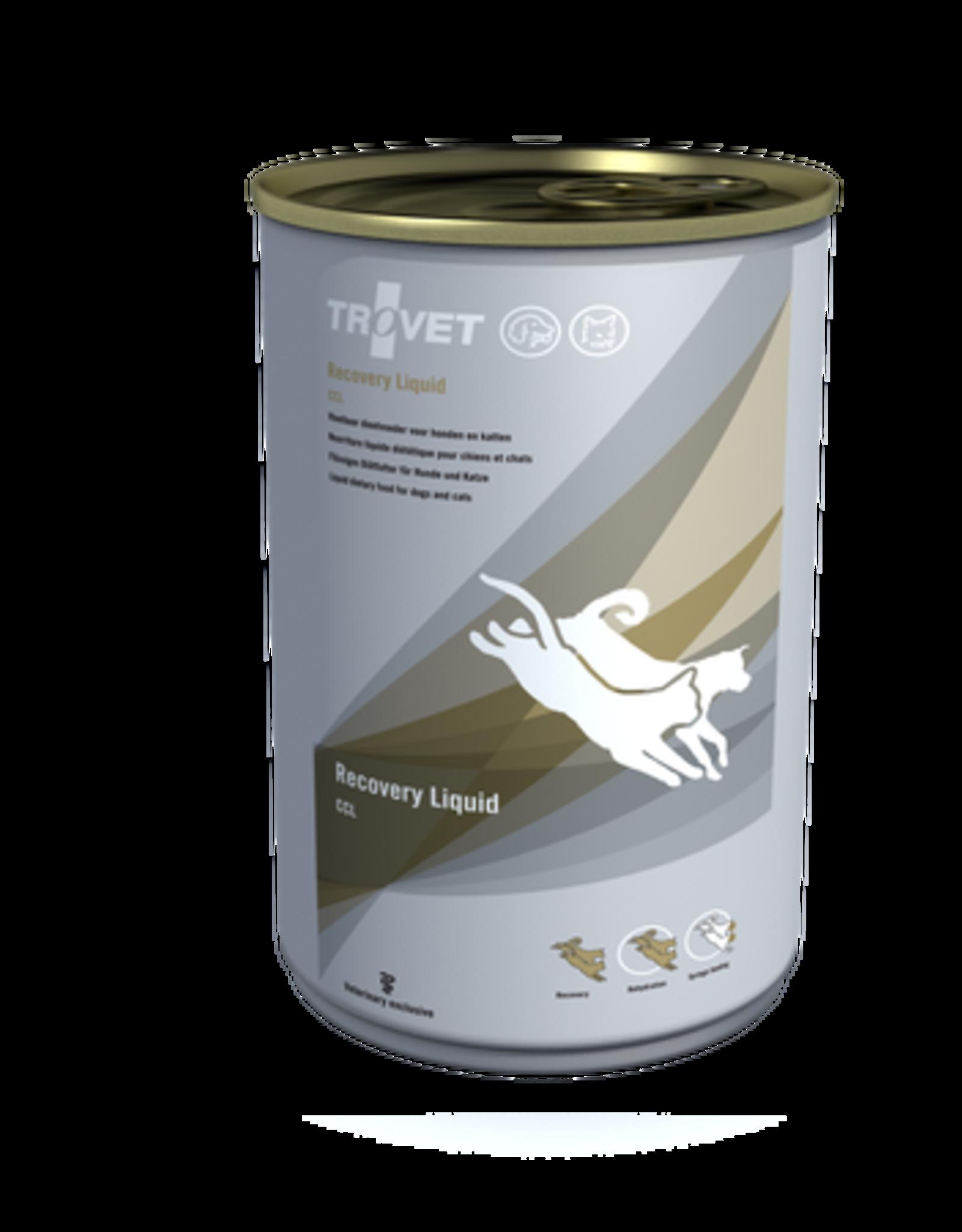 Trovet Trovet Ccl Recovery Liquid Hond/kat 12x395g
