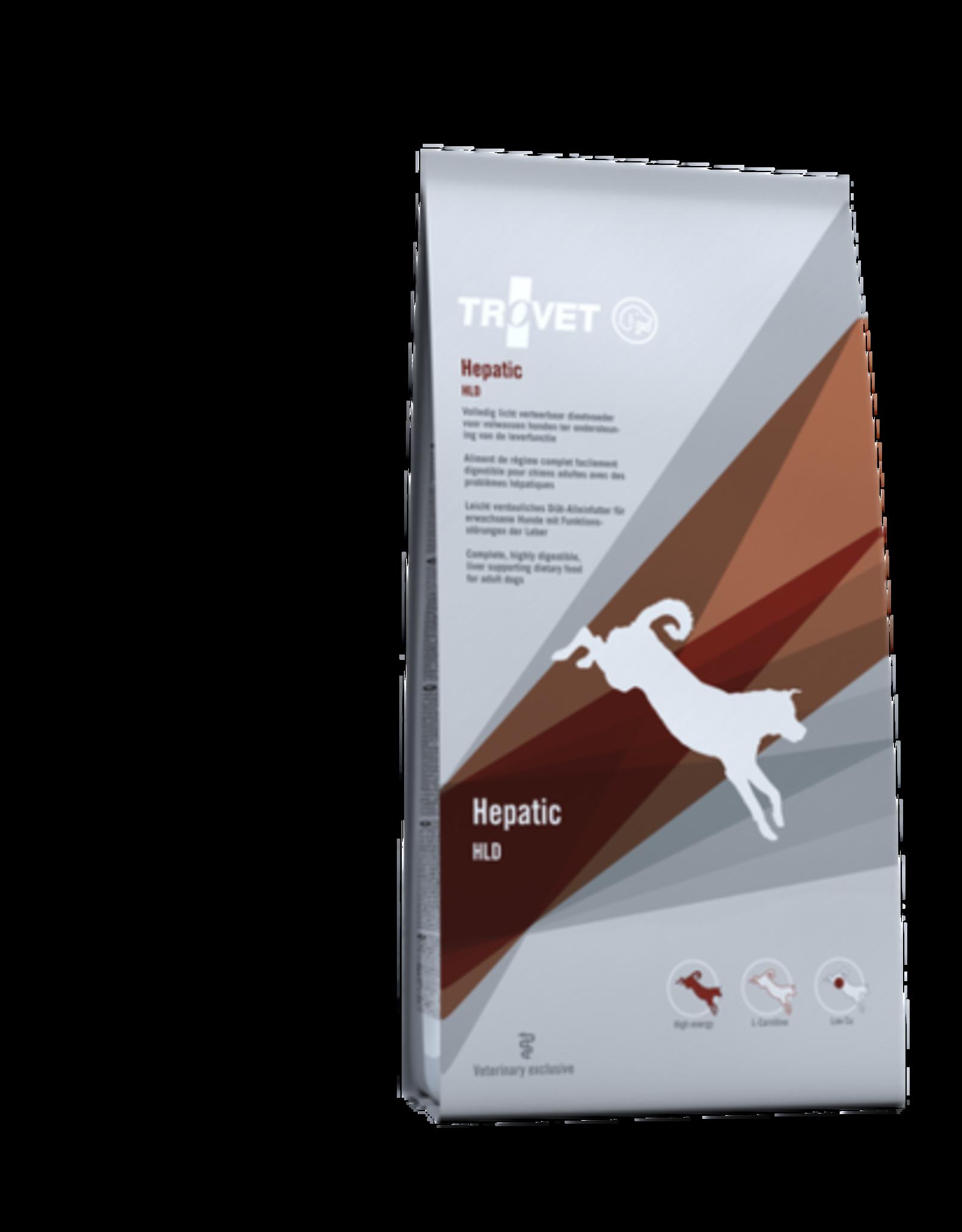 Trovet Trovet Hld Hepatic Hund 3kg