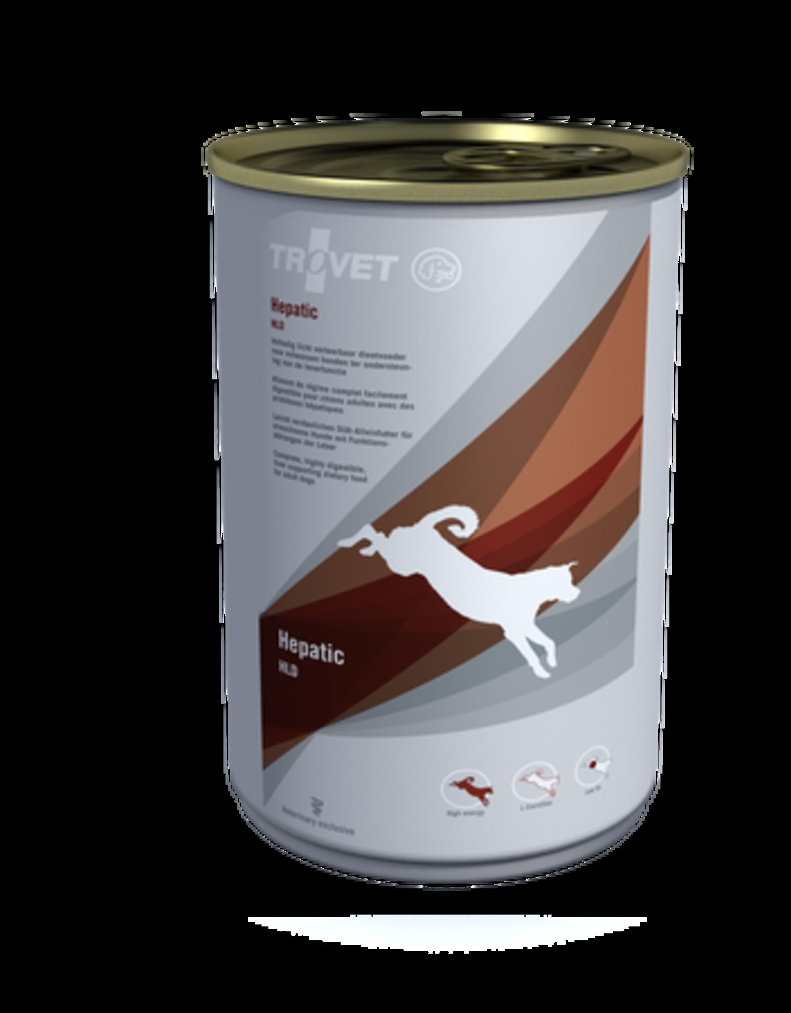 Trovet Trovet Hld Hepatic Hond 6x400g
