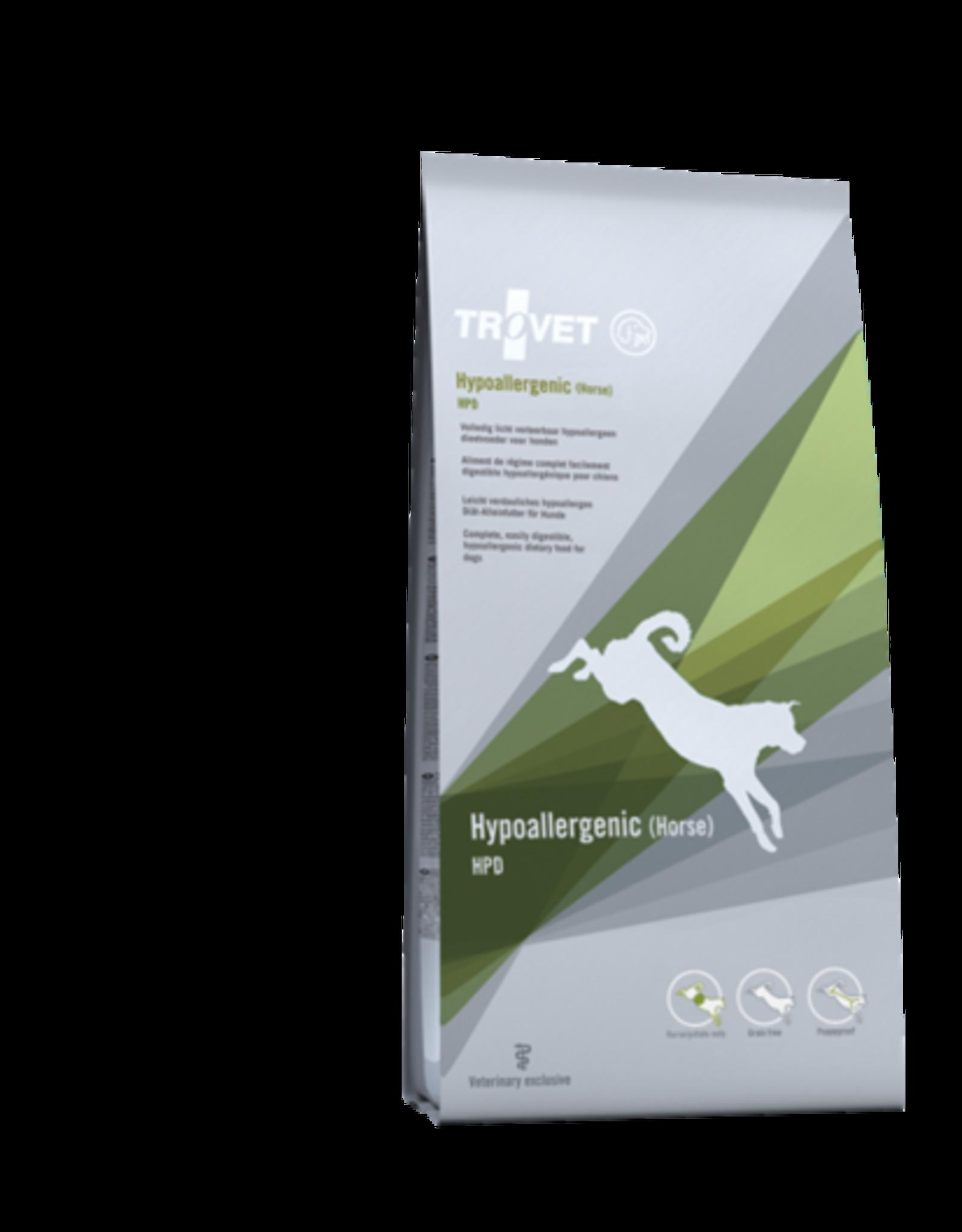 Trovet Trovet Canine Hpd Hypoallergenic Horse 3kg