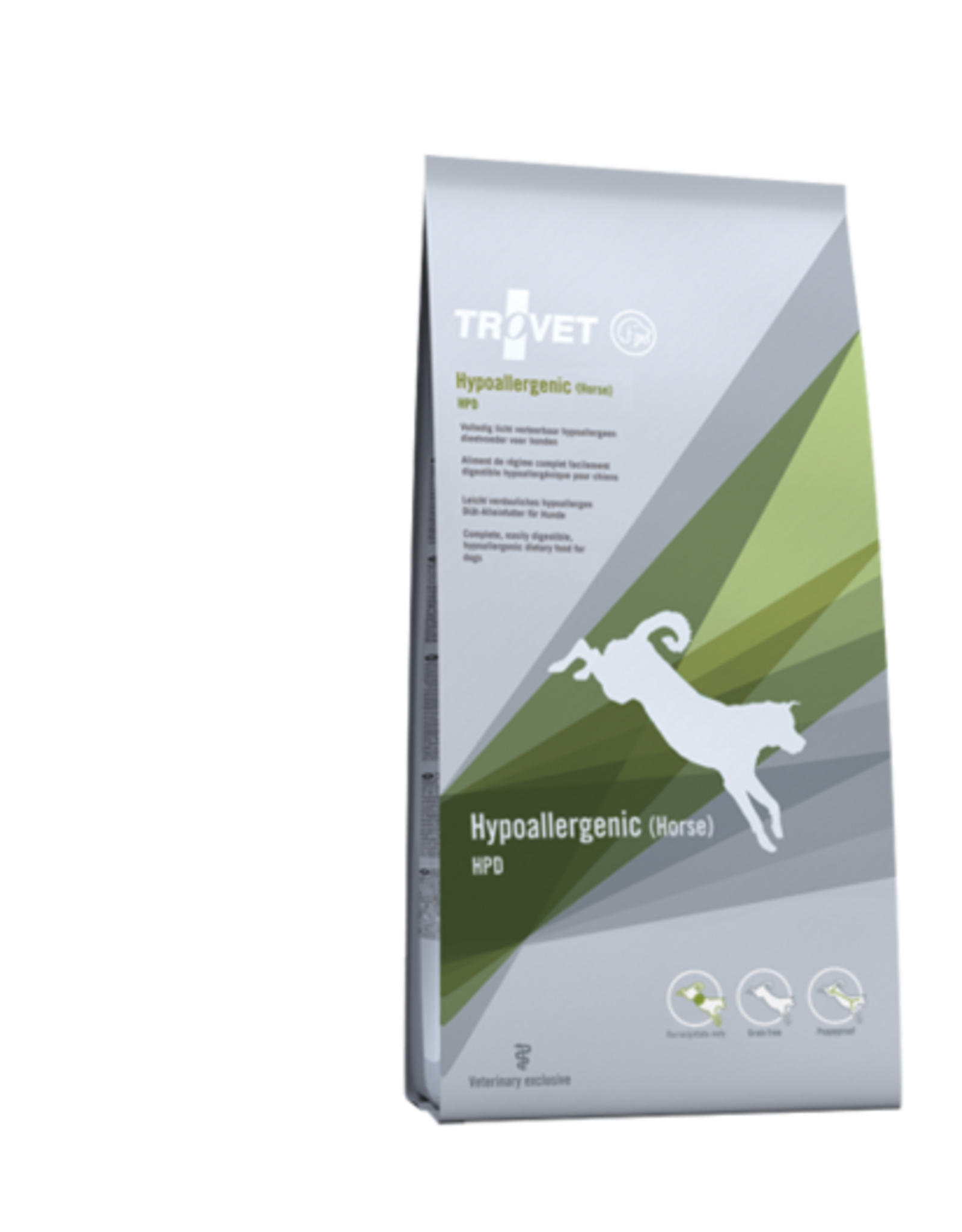 Trovet Trovet Hpd Hypoallergenic Dog Horse 3kg