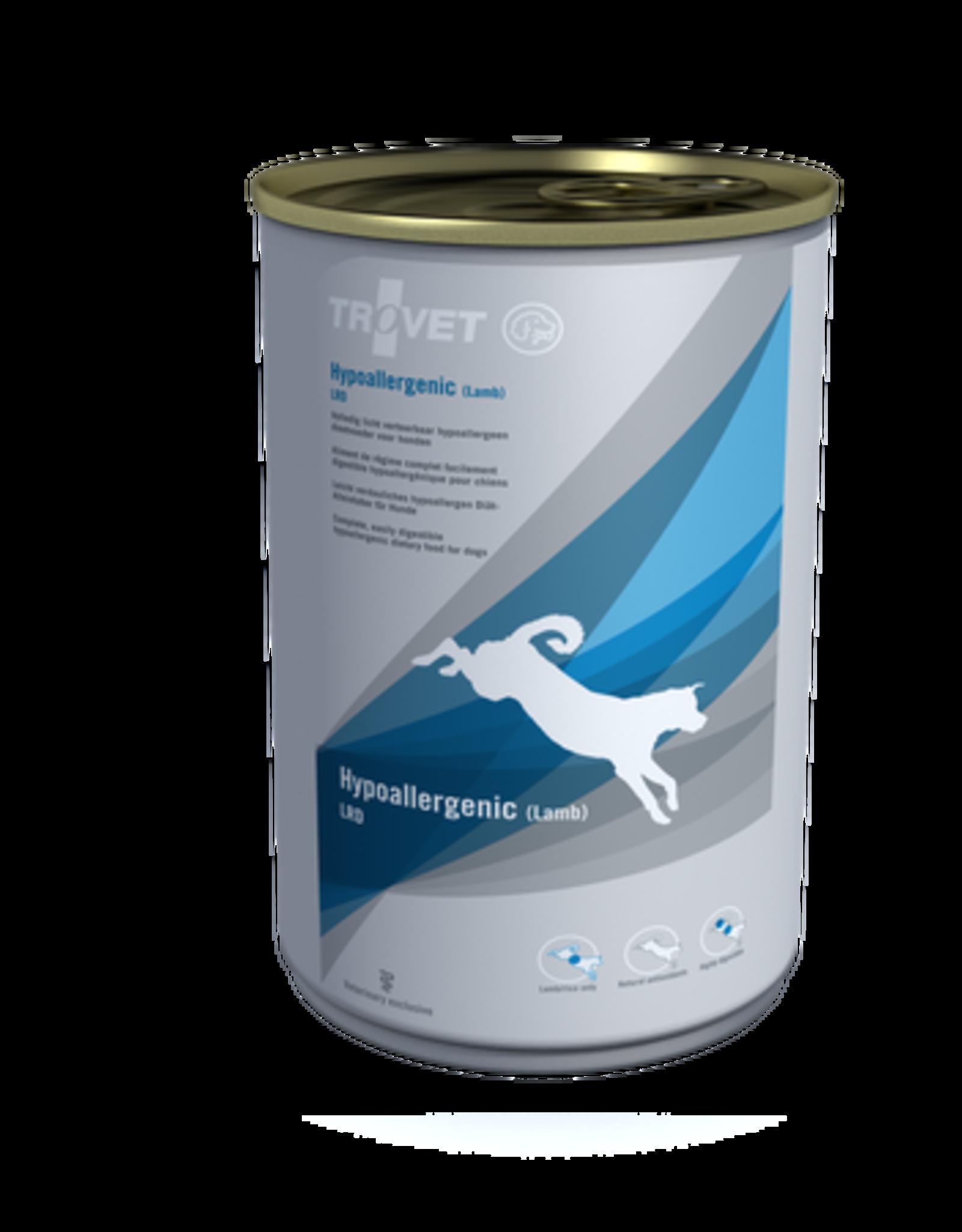 Trovet Trovet Lrd Hypoallergenic Chien Lamb 6x400g