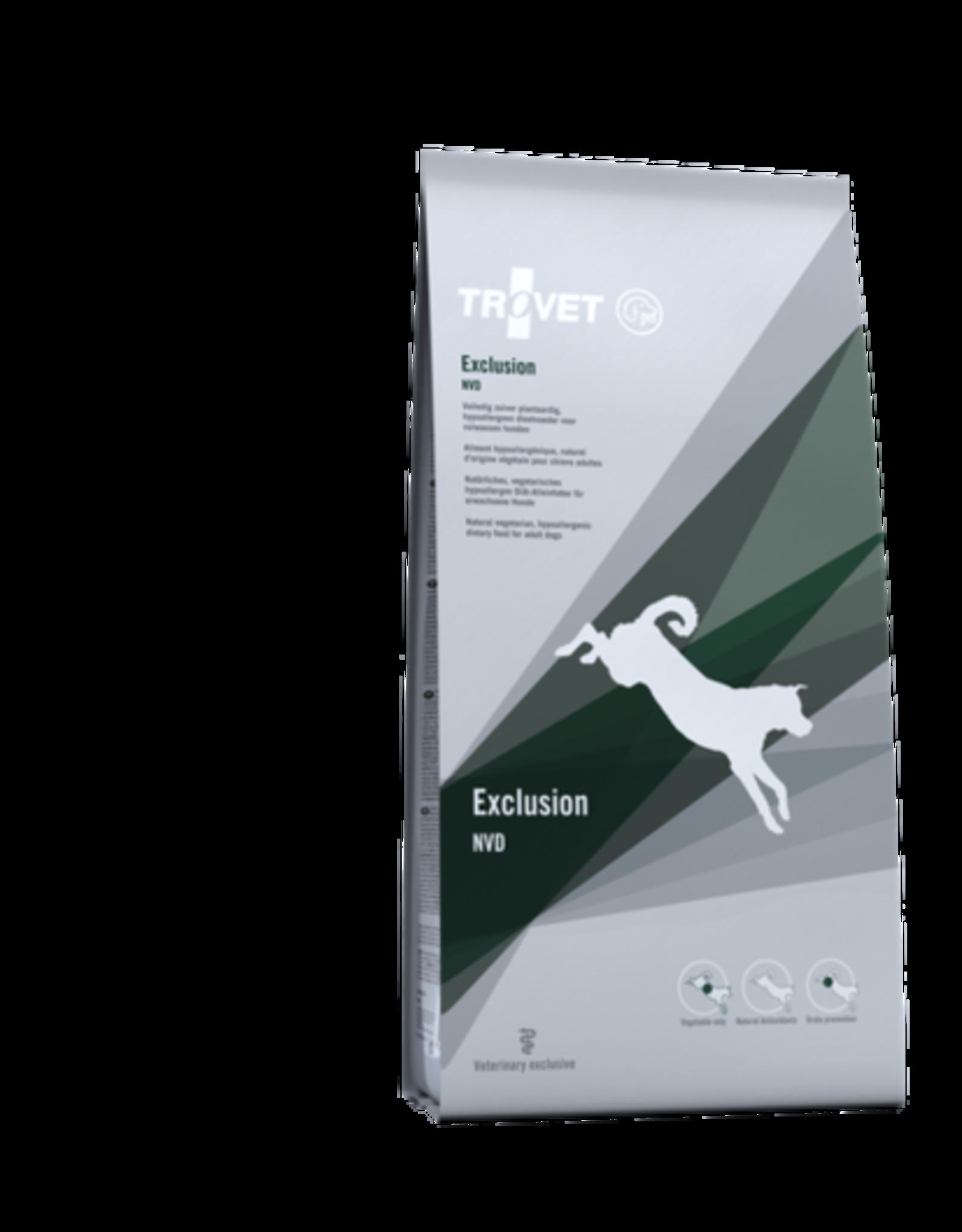 Trovet Trovet Nvd Exclusion Dog 12,5kg