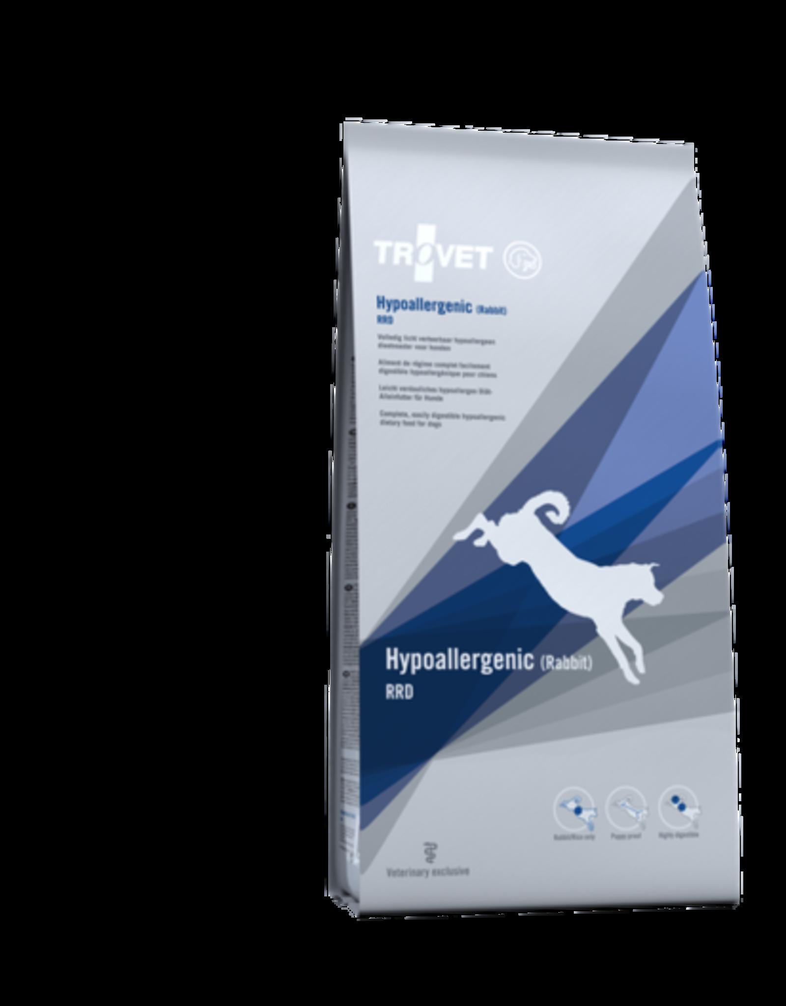 Trovet Trovet Rrd Hypoallergenic Hond Rabbit 3kg