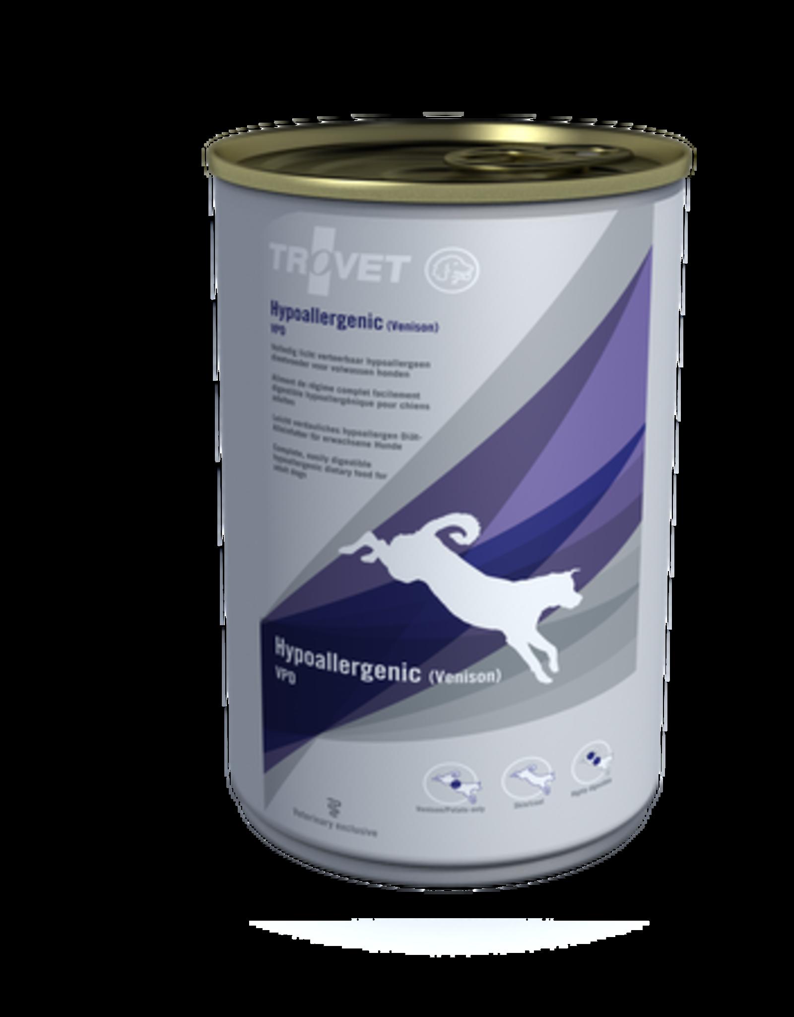 Trovet Trovet Vpd Hypoallergenic Hond Venison 12x400g