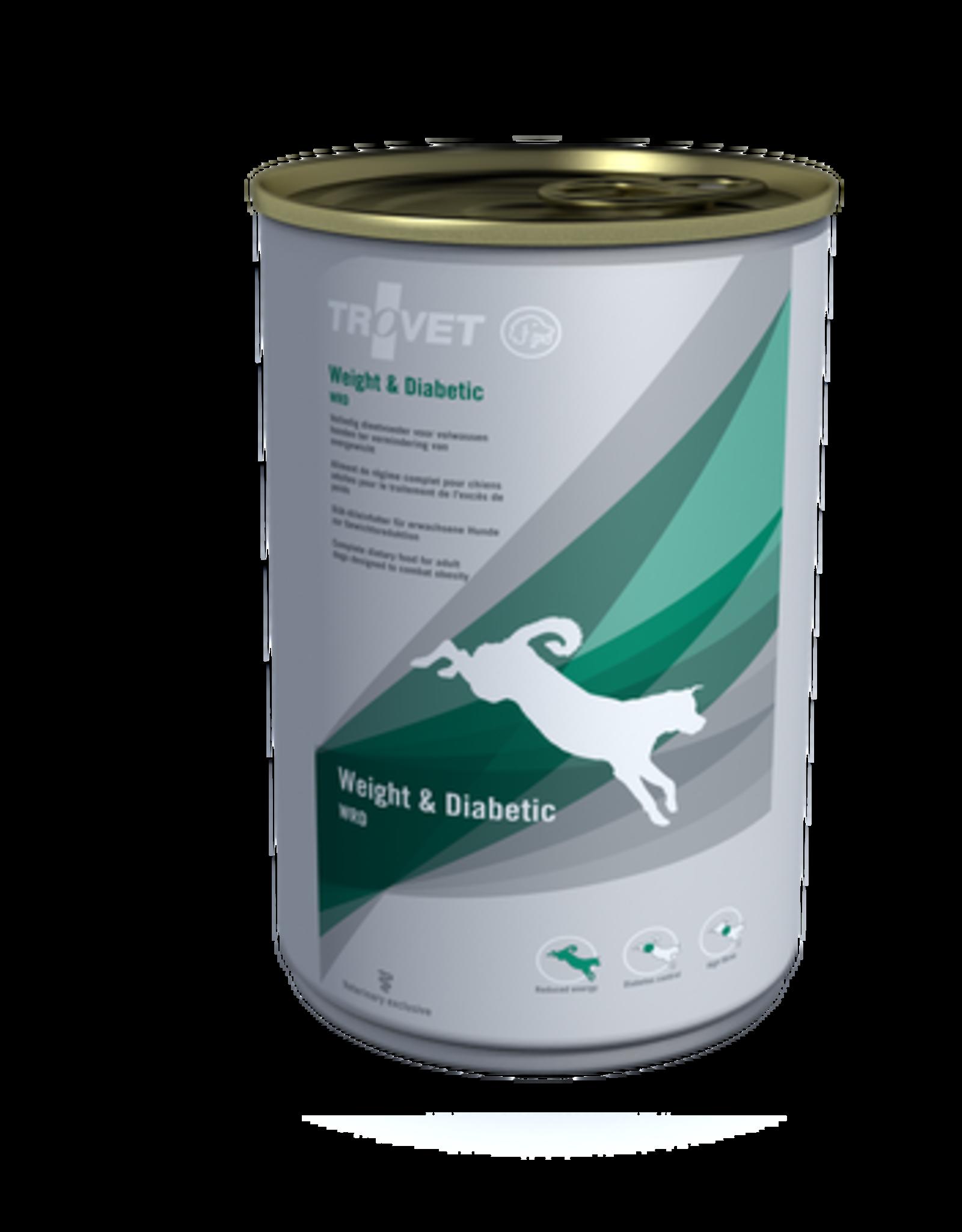 Trovet Trovet Wrd Weight/diabetic Dog 6x400g