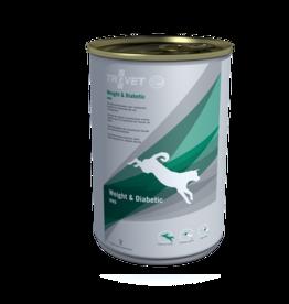 Trovet Trovet Wrd Weight/diabetic Hond 6x400g