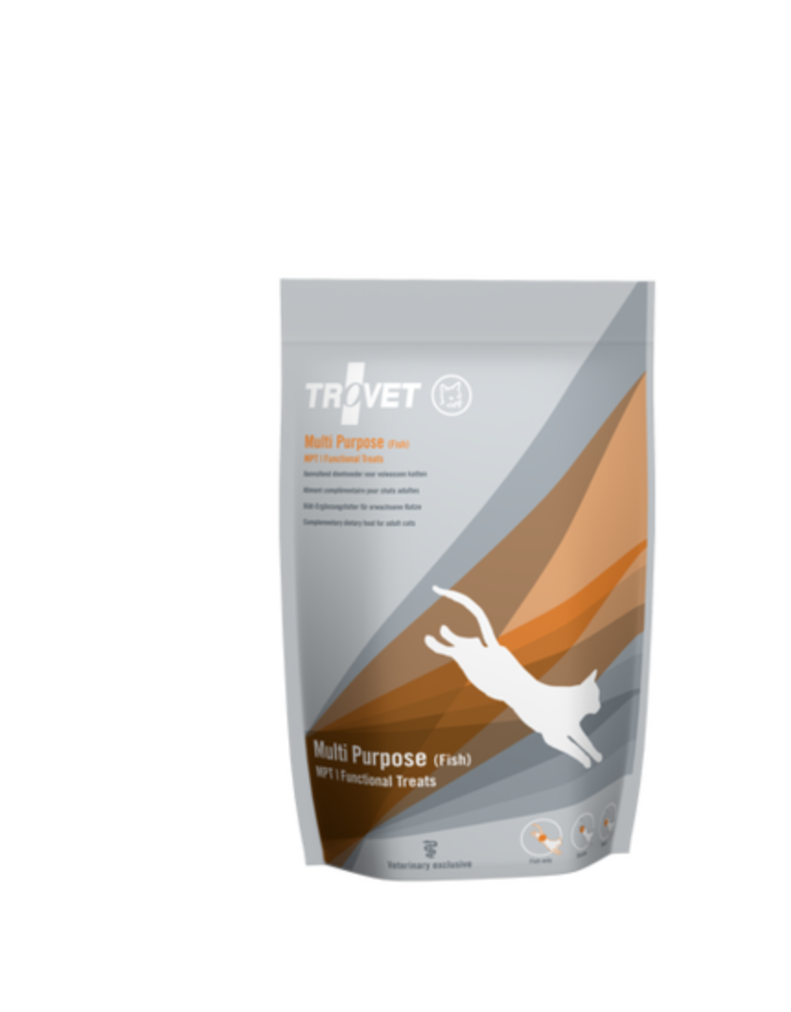 Trovet Trovet Mpt Treat Cat Fish 10x75g