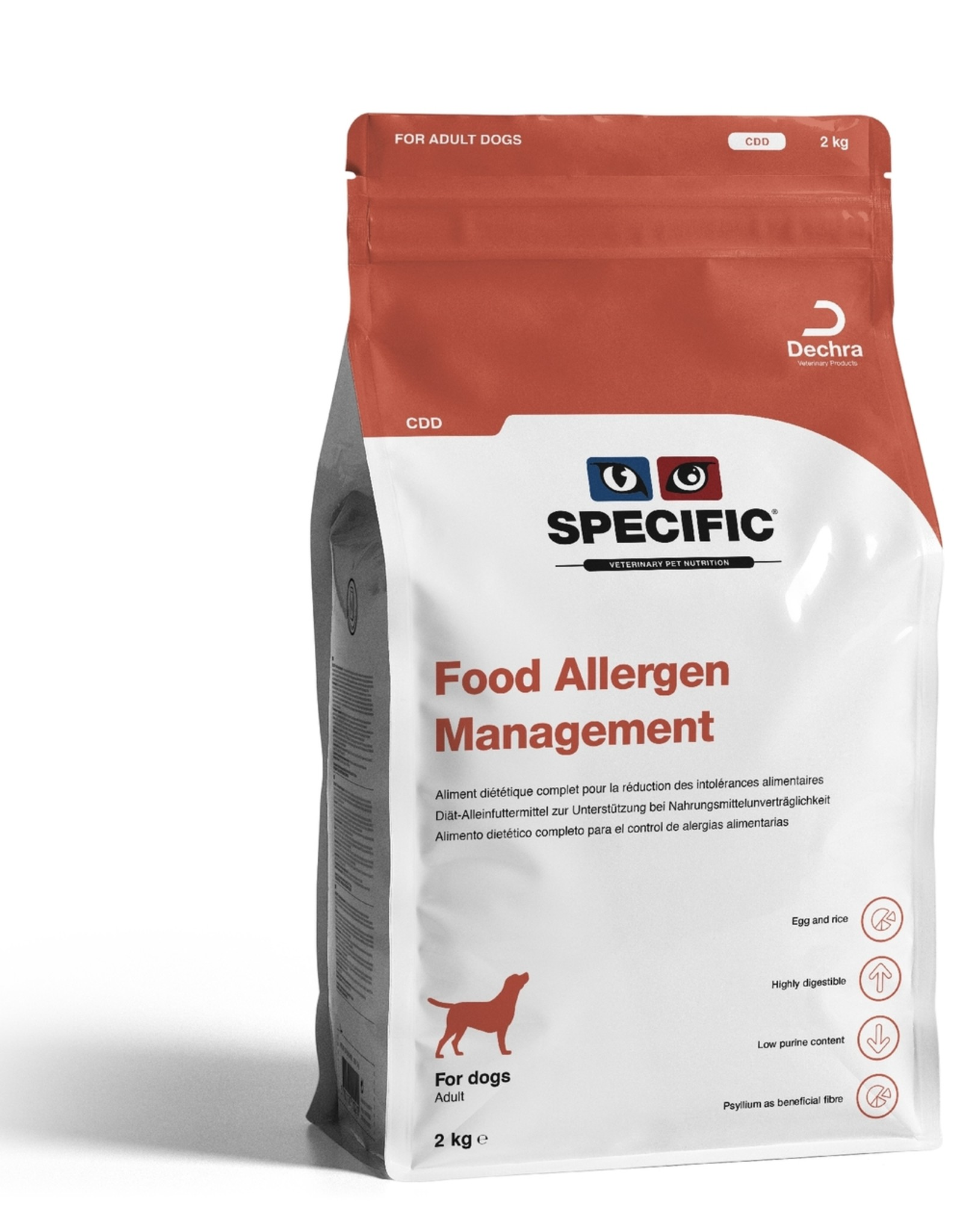 Specific Specific Cdd Food Allergy 2kg