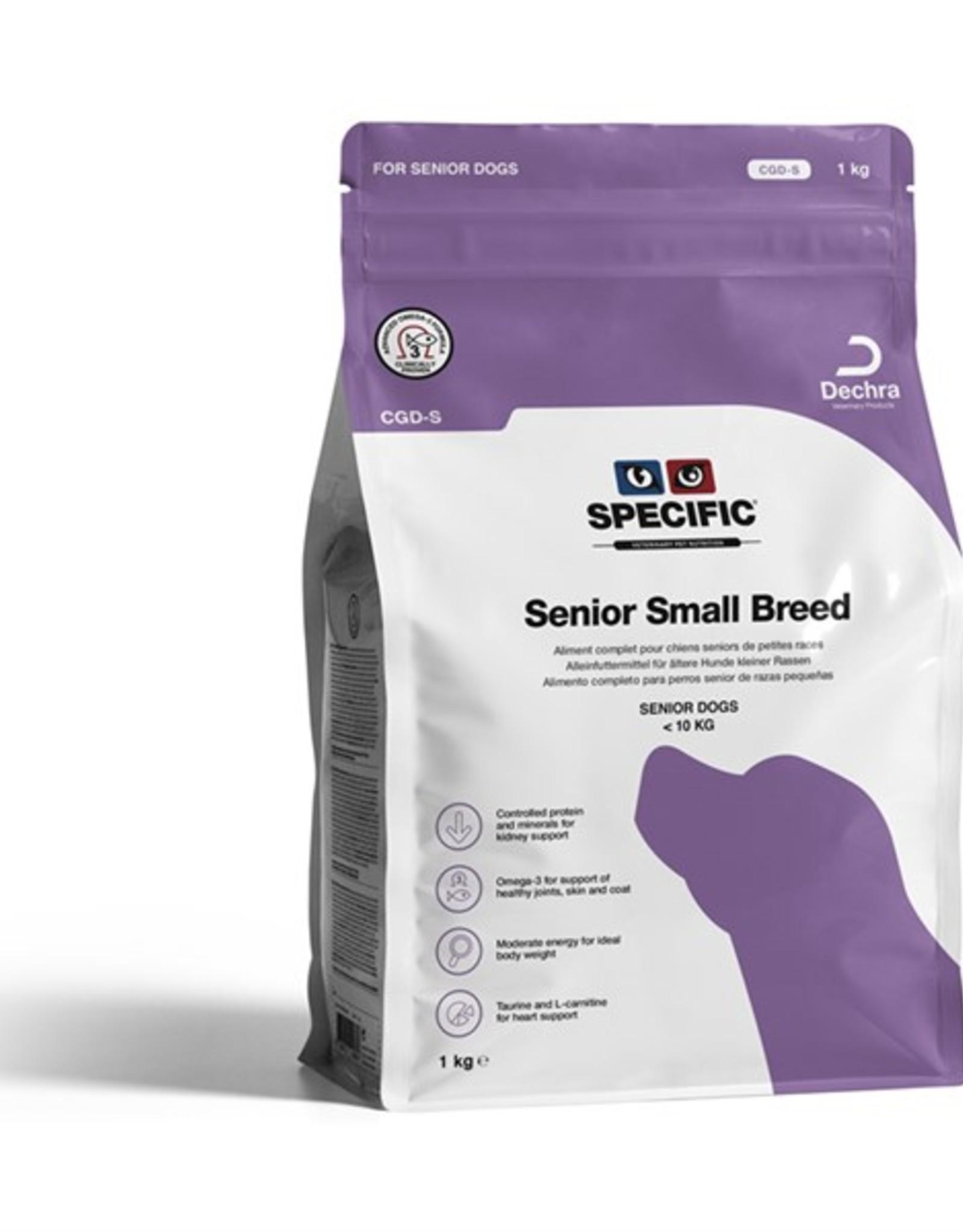 Specific Specific Cgd-s Senior Small 1kg